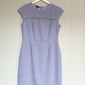 ESCADA Blue Iris Cornflower Lavender Shift Dress